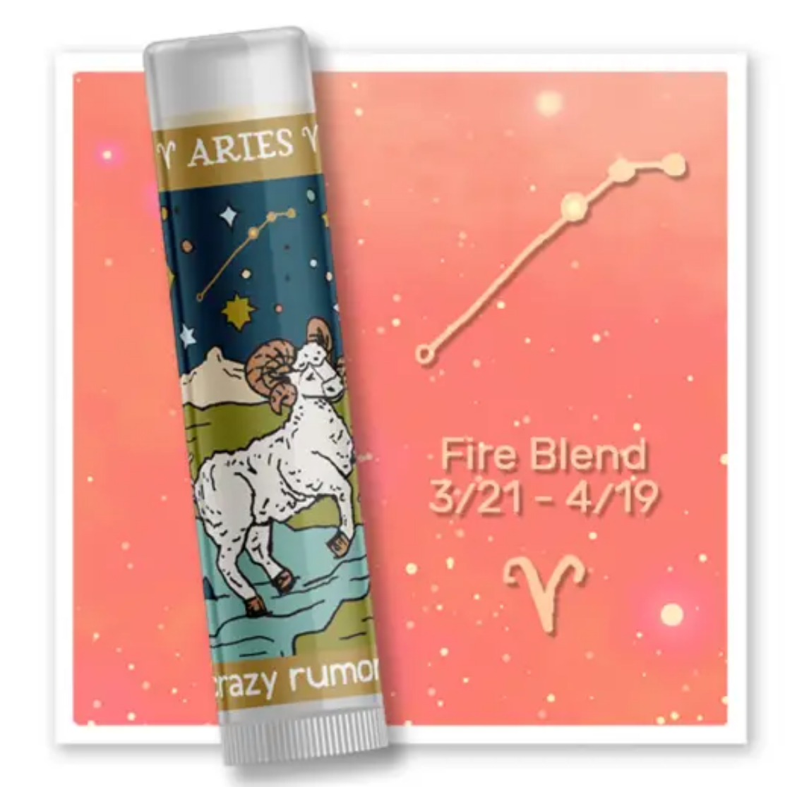 Crazy Rumors Aries - Fire Blend Lip Balm