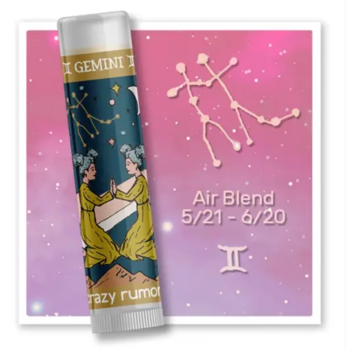 Crazy Rumors Gemini - Air Blend Lip Balm