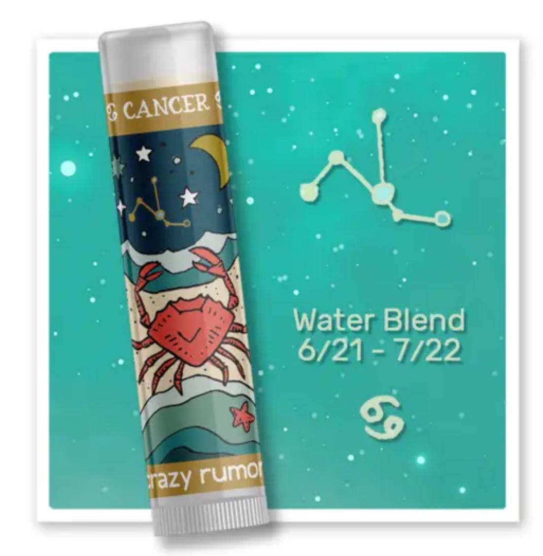 Crazy Rumors Cancer - Water Blend Lip Balm