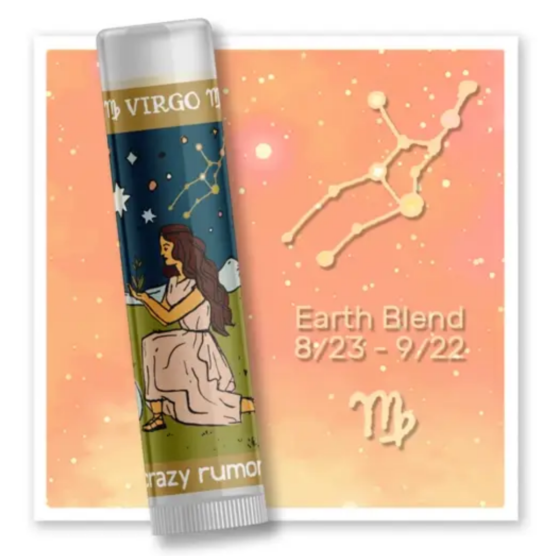 Crazy Rumors Virgo - Earth Blend Lip Balm