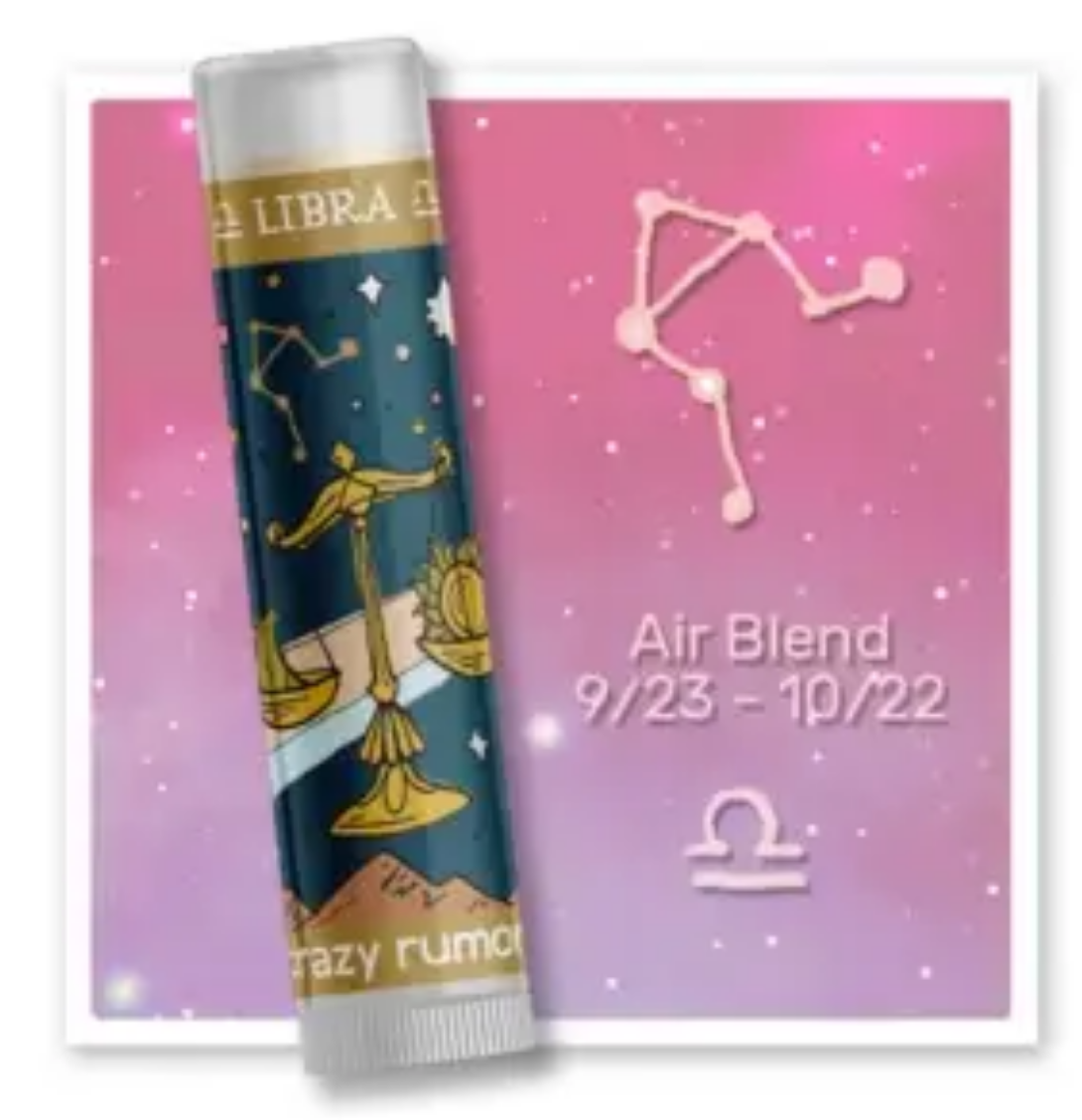 Crazy Rumors Libra - Air Blend Lip Balm