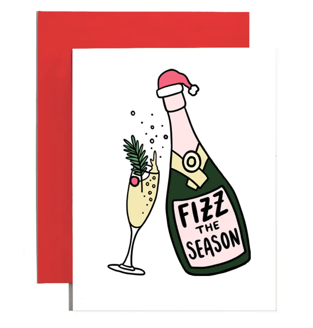 Brittany Paige Fizz The Season Card