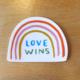 Abbie Paulhus Love Wins Sticker
