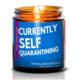 NaturalAnnie Essentials I Love Social Distancing 4oz Soy Candle-SEA BREEZE
