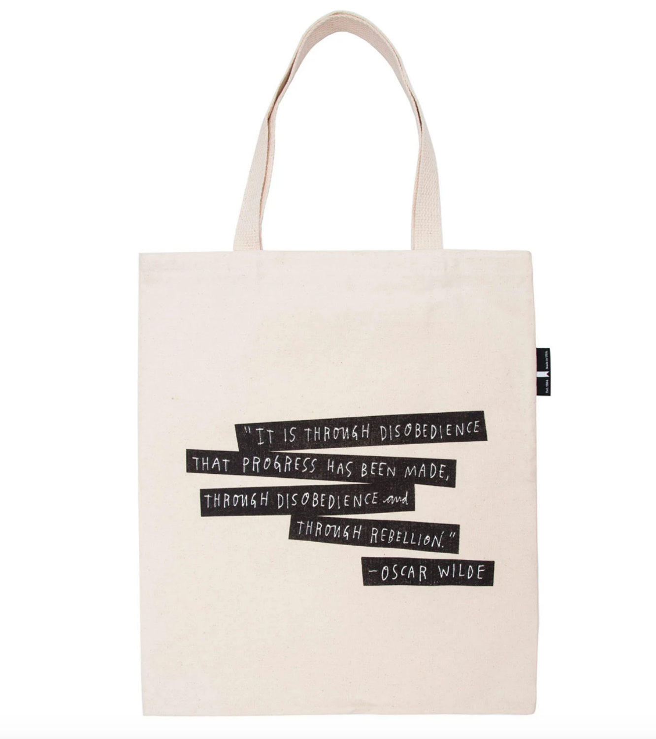Out of Print Tote- Punk Rock Authors