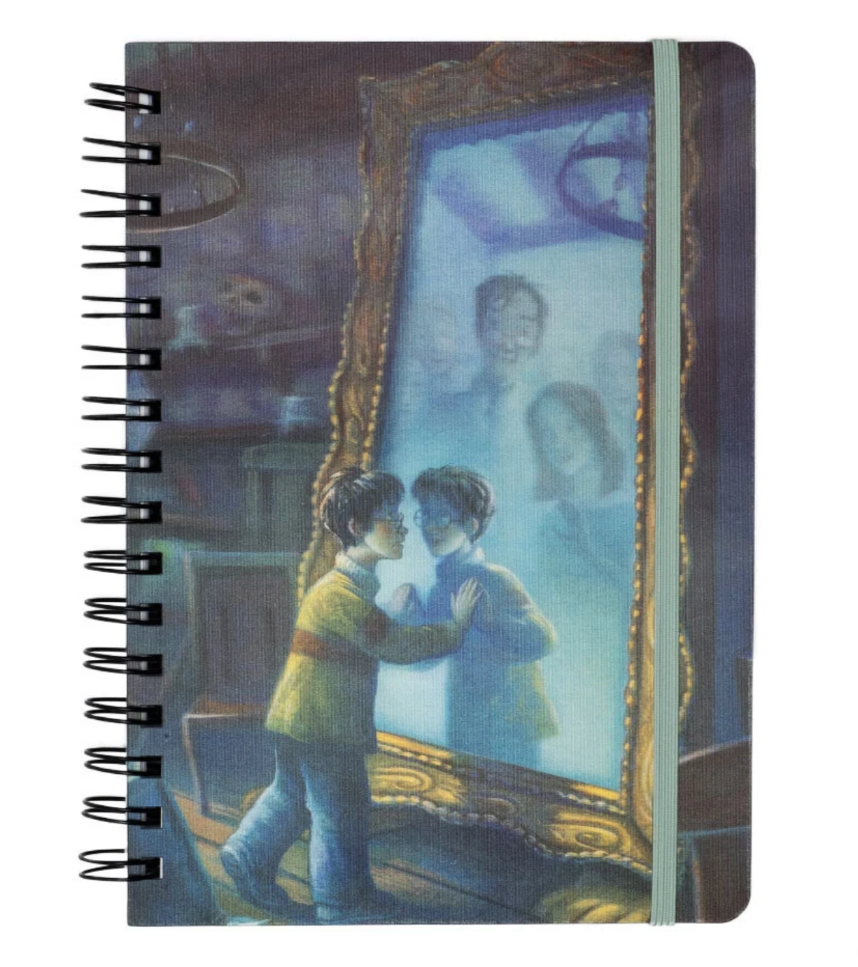 Out of Print Mirror of Erised Notebook
