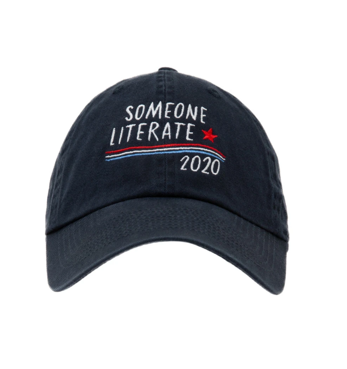 Out of Print Someone Literate 2020 Cap