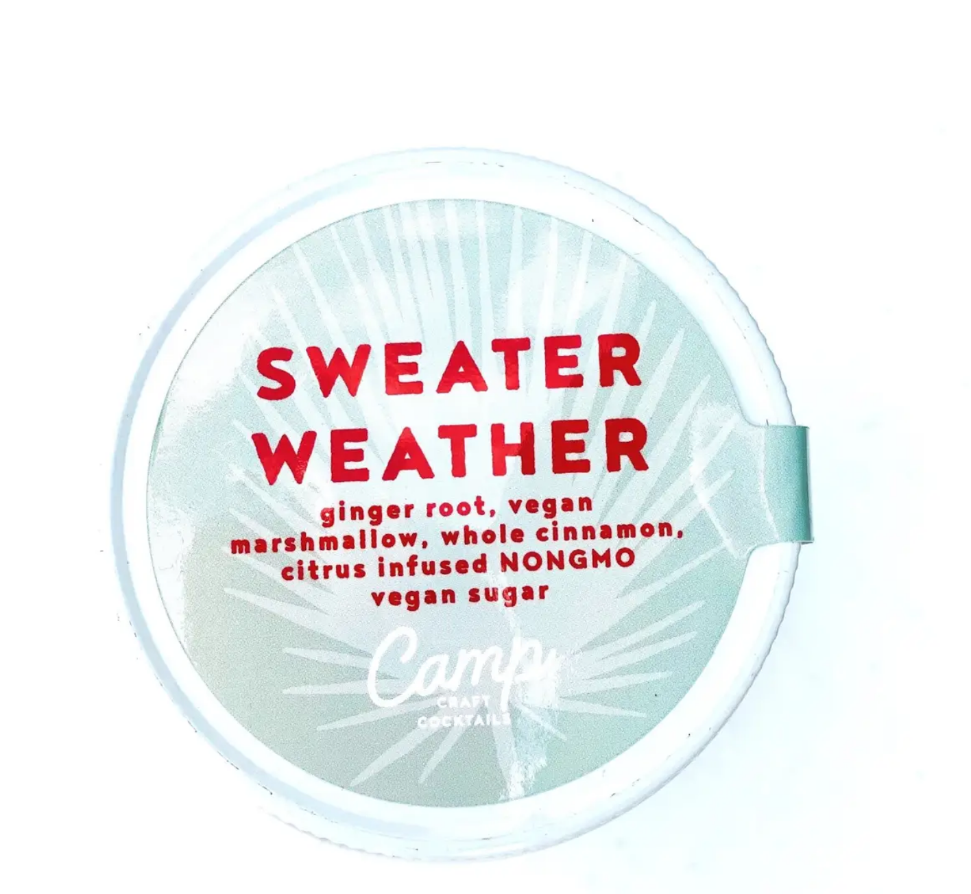 Camp Craft Cocktails Sweater Weather- 16oz