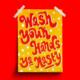 Siyo Boutique Wash Your Hands Bathroom Print