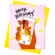 Rhino Parade Facetime Birthday Card