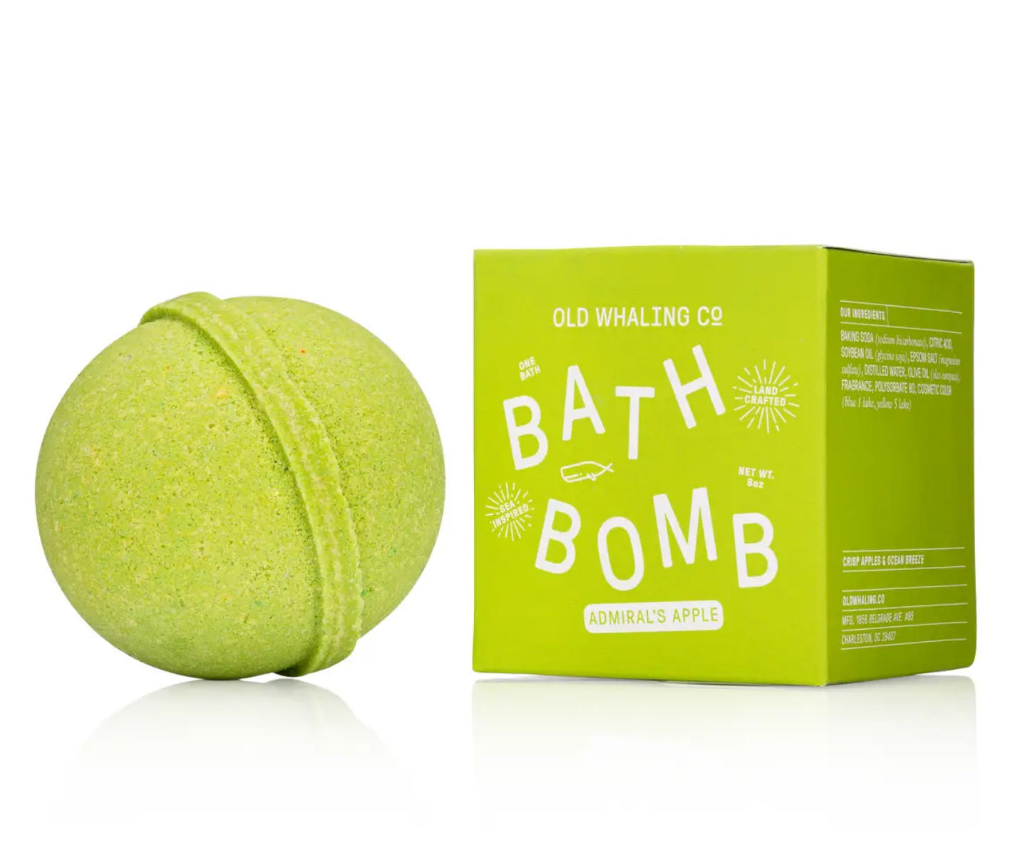 Old Whaling Company Admiral's Apple Bath Bomb