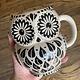 Natural Life Mug - Folk Art Wisdom Owl