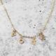 Rockaway Gypsea VOTE Necklace-Gold Fill
