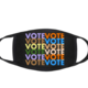 Ripley Rader VOTE Mask-Black/Multi - FINAL SALE