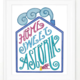 About a Cloud Home Sweet Astoria Print