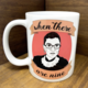 """Citizen Ruth RBG """"When There are Nine"""" Mug"""