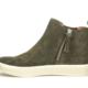 Sofft Shoe Company Britton Zip-Olive Suede - FINAL SALE