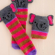 Natural Life Elephant Cozy Sock