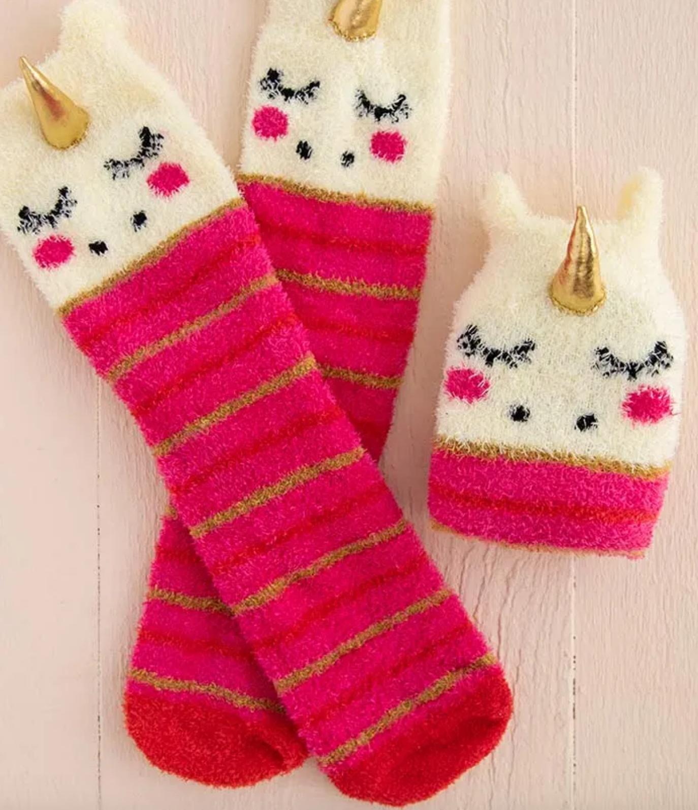 Natural Life Unicorn Cozy Sock