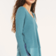 Z Supply Raine Thermal Tunic-Teal