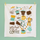 The Neighborgoods Tea Towel-Coffee