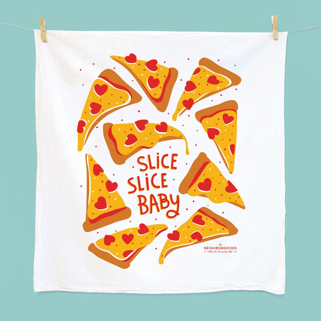 The Neighborgoods Tea Towel-Pizza