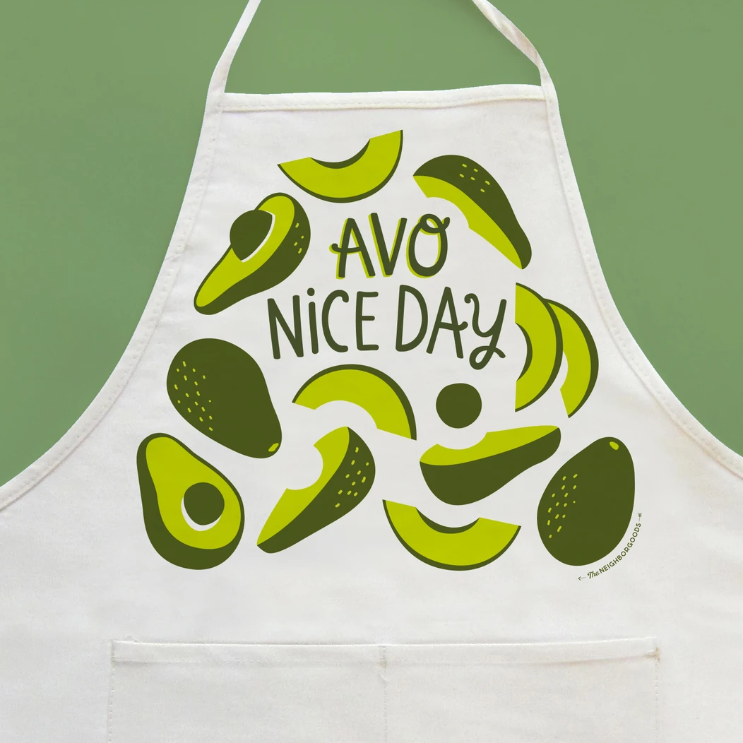 The Neighborgoods Apron-Avocado