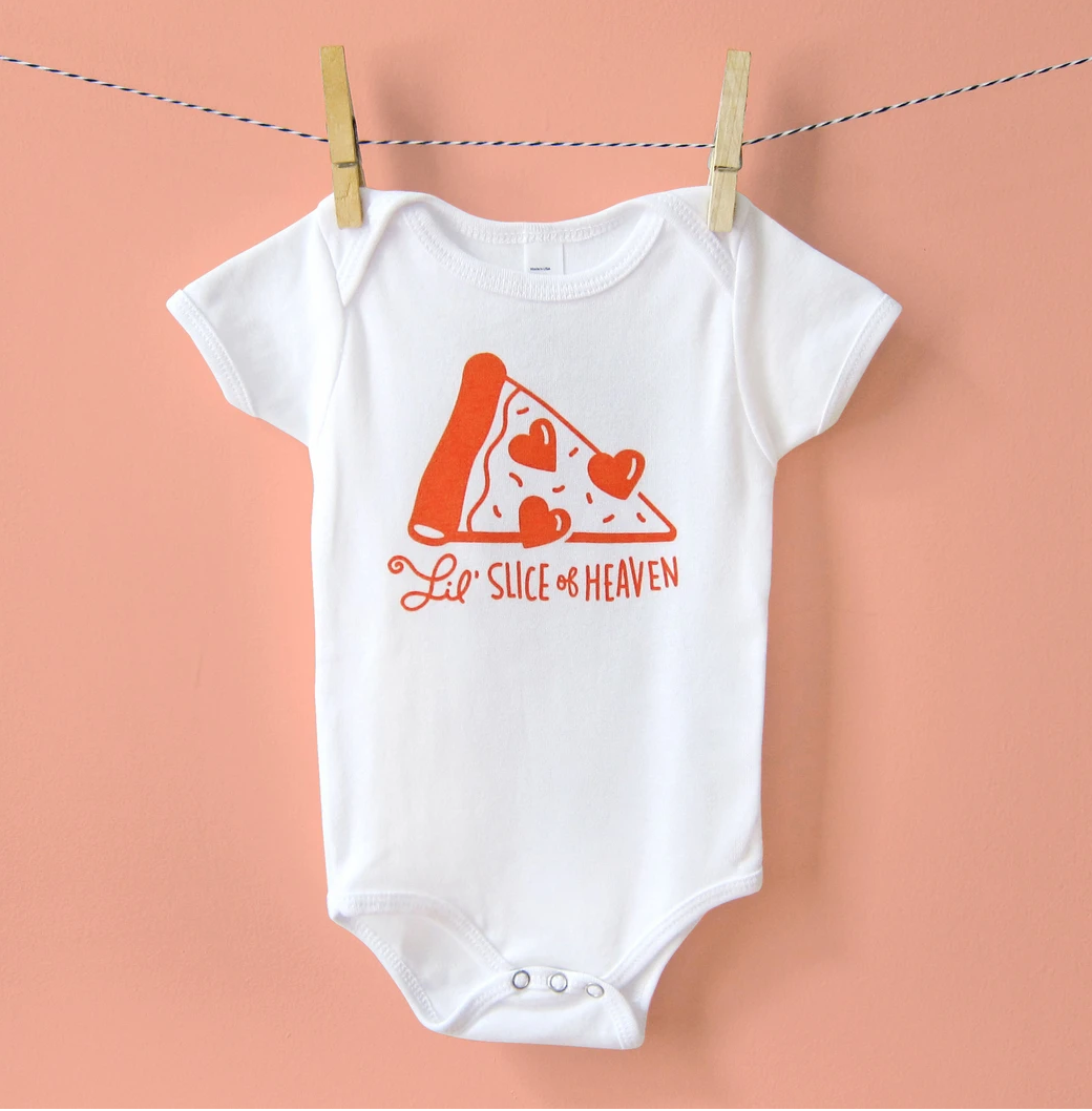 The Neighborgoods Onesie-Pizza
