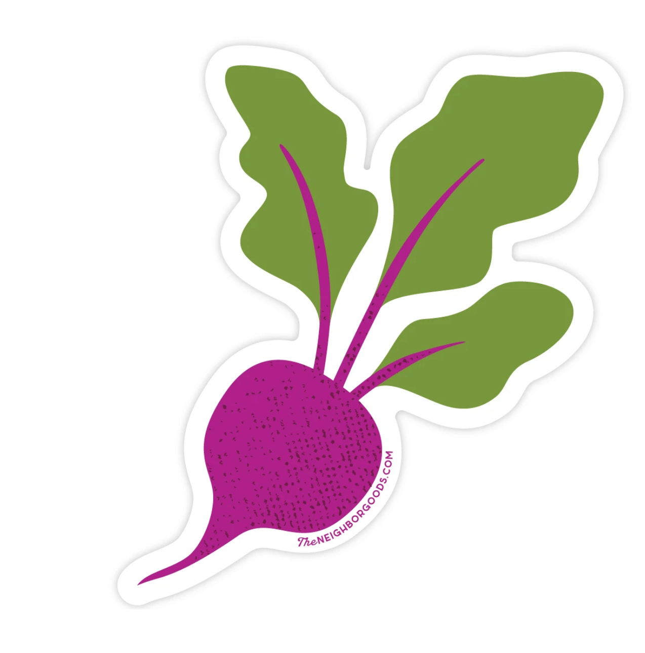 The Neighborgoods Sticker-Beet