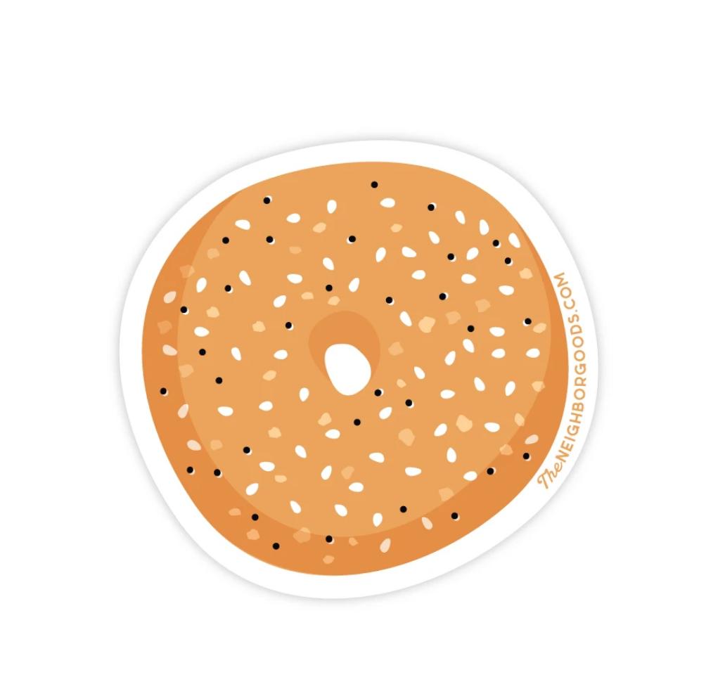 The Neighborgoods Sticker-Bagel