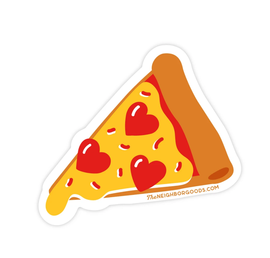The Neighborgoods Sticker-Pizza
