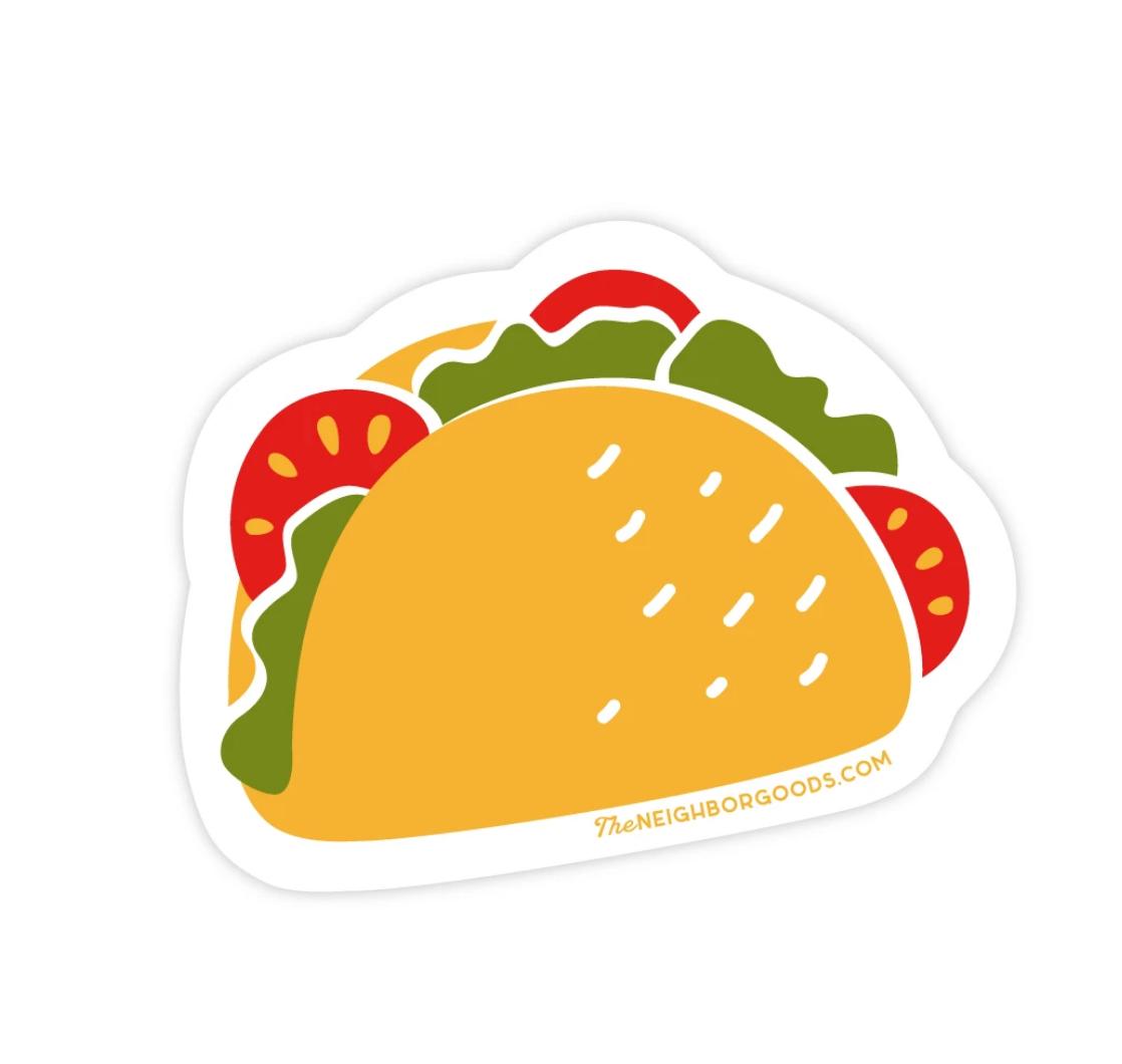 The Neighborgoods Sticker-Taco
