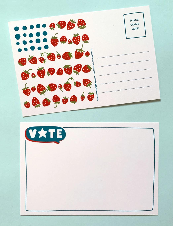 The Neighborgoods VOTE Postcard-Set of 25-FINAL SALE