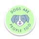 Little Goat Dogs Are People Too Sticker