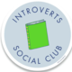 Little Goat Introverts Social Club Sticker