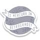 Little Goat Mercury Retrograde Sticker