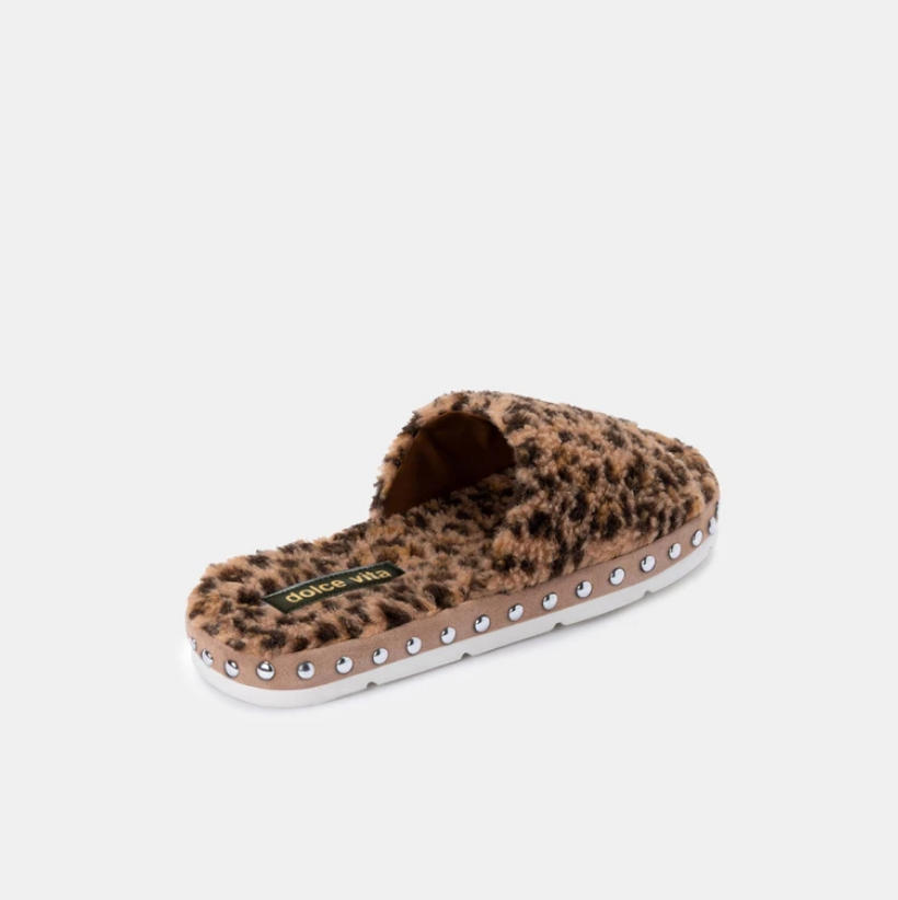 Dolce Vita Mochi Slide-Leopard