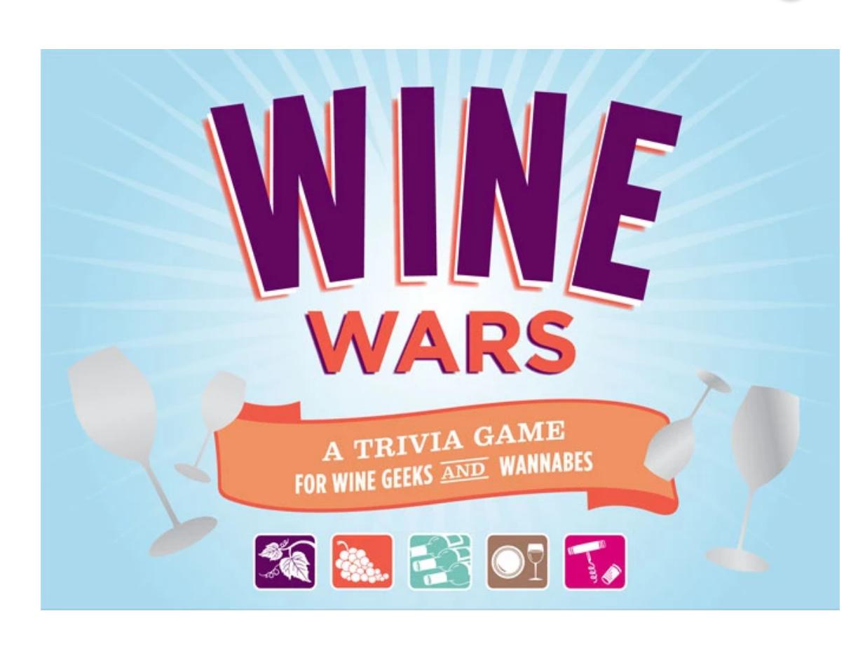 Chronicle Books Wine Wars