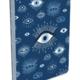 Studio Oh Coptic-Bound Journal Compact - Evil Eye