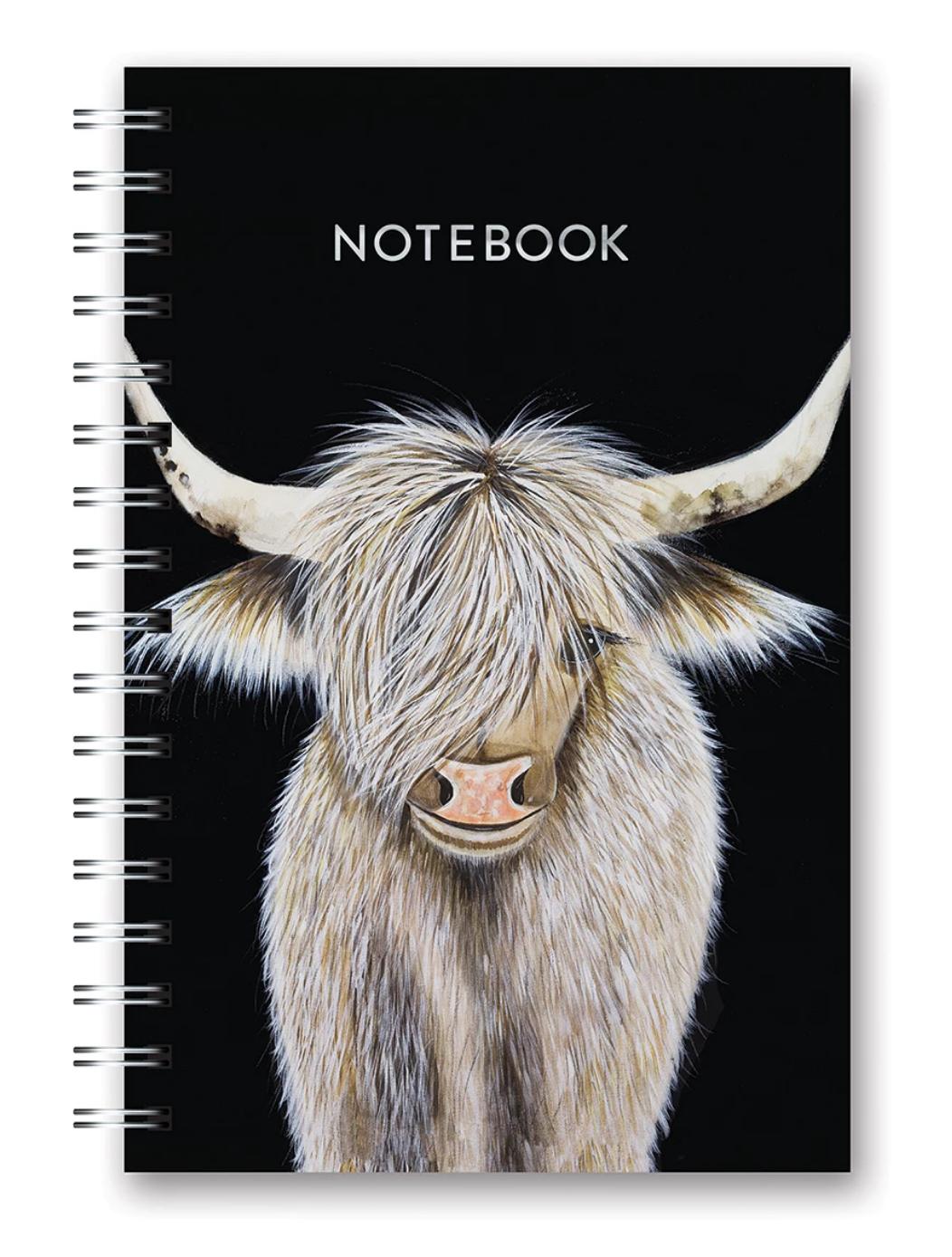 Studio Oh Spiral Notebook Medium - Beau