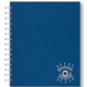 Studio Oh Embroidered Spiral Notebook - Evil Eye