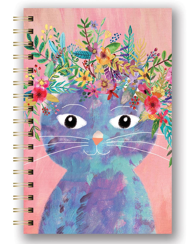 Studio Oh Spiral Journal - Fancy Cat