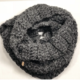 Stitch'D Factory It Takes a West Village Scarf-Charcoal