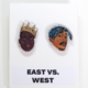 Leroy's Place Stud Earrings - East vs West
