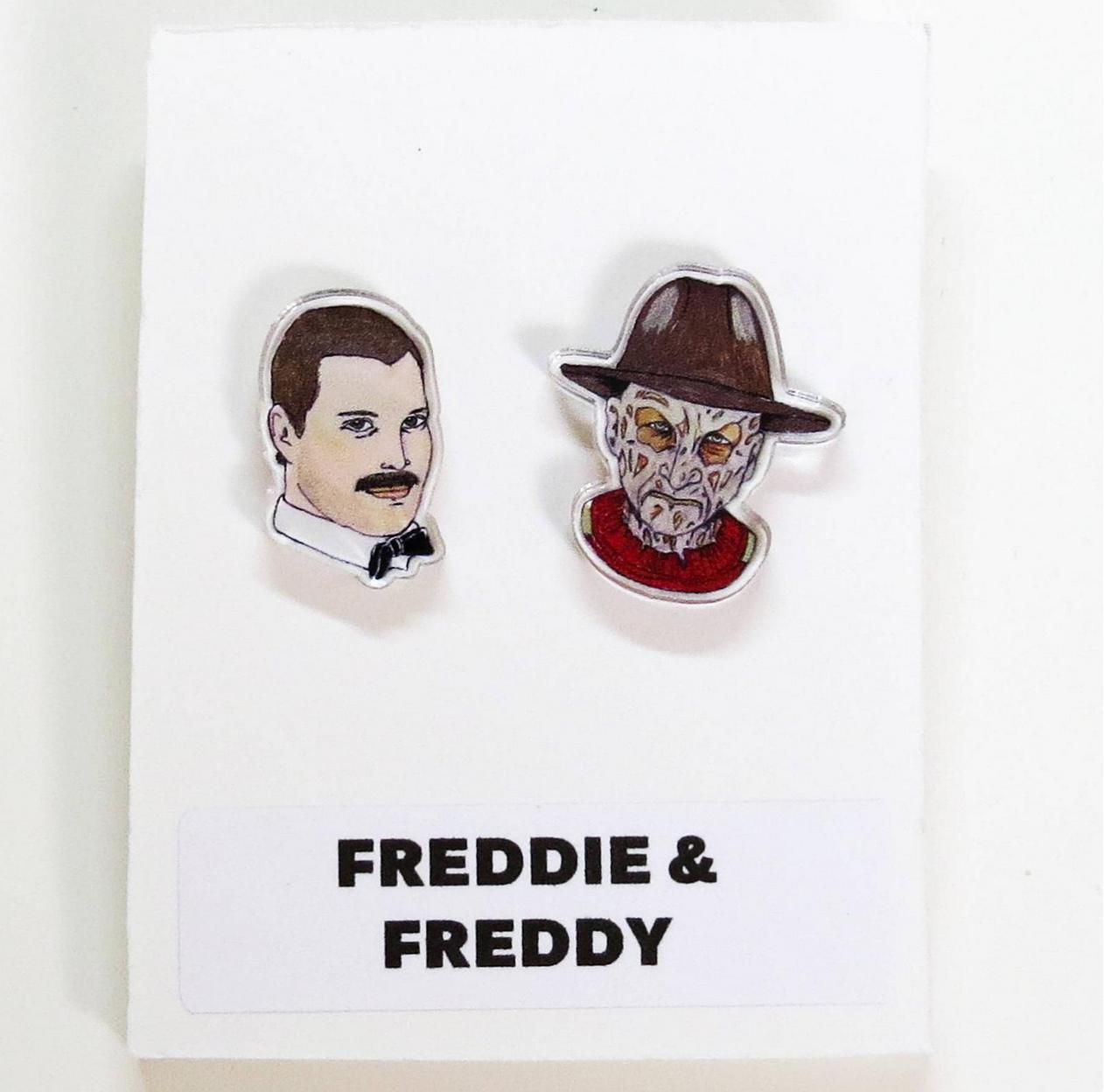 Leroy's Place Stud Earrings - Freddie & Freddy