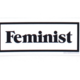 Seltzer Feminist Work Sticker