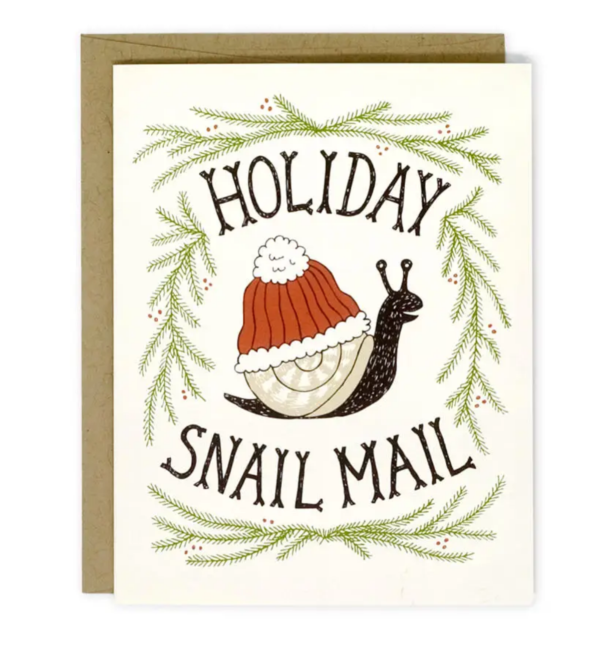 Wit & Whistle Holiday Snail Mail Holiday Card