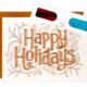 Wit & Whistle 3D Happy Holidays Boxed Card Set