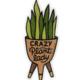 Wit & Whistle Crazy Plant Lady Sticker