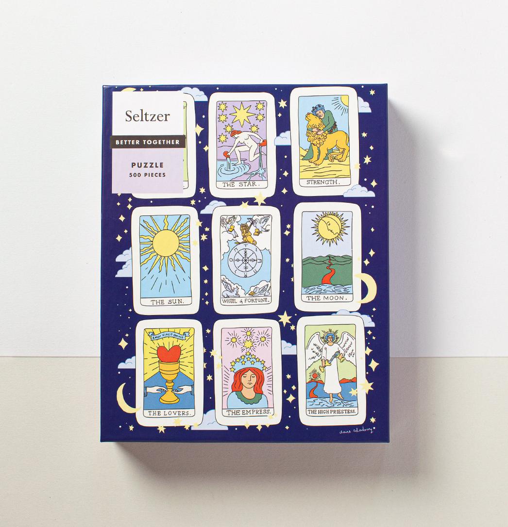 Seltzer Seltzer Puzzle - Tarot Cards